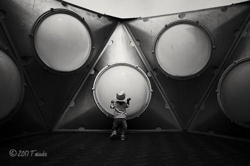 GR2作例:秘密基地。 #万博公園 にて。