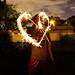 Heart From Sparklers by stevenvan4