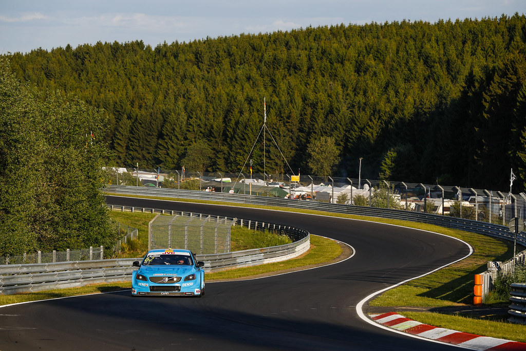 62 BJORK Thed (swe), Volvo S60 Polestar team Polestar Cyan Racing, action during the 2017 FIA WTCC World Touring Car Race of Nurburgring, Germany from May 26 to 28 - Photo Florent Gooden / DPPI
