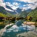 Bondhus lake by Richard Larssen