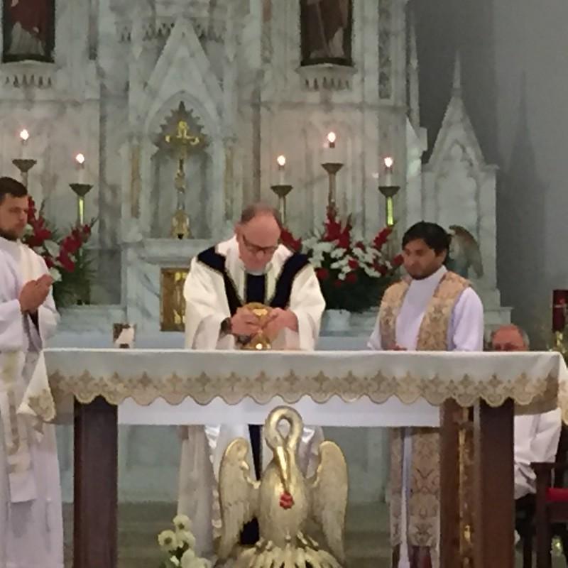 First Mass Photos