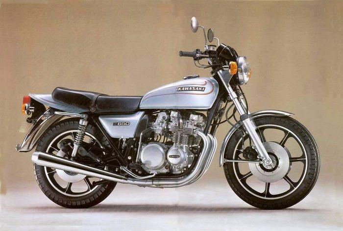 kawasaki z650 1980 - galerie moto