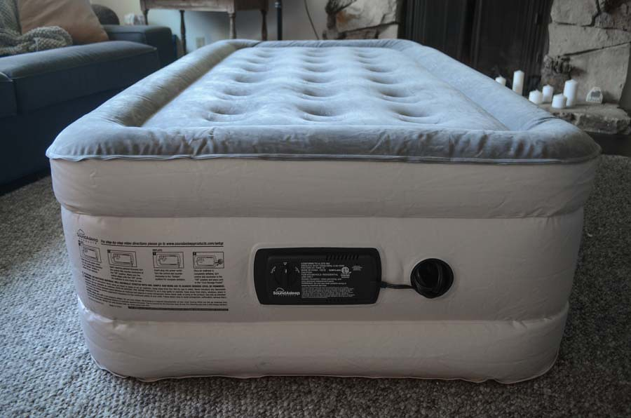 Inflated air mattress - Sound Asleep