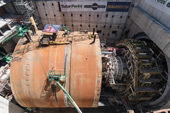 Bertha disassembly progress