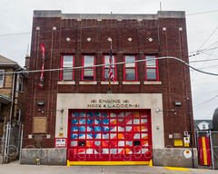 FDNY Firehouse Engine 161 and Ladder 81, South Beach, Staten Island, New York City