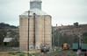 Silos at the western end of Gunnedah yard.