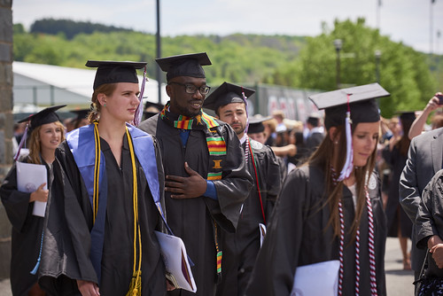 2017 Commencement at Colgate University