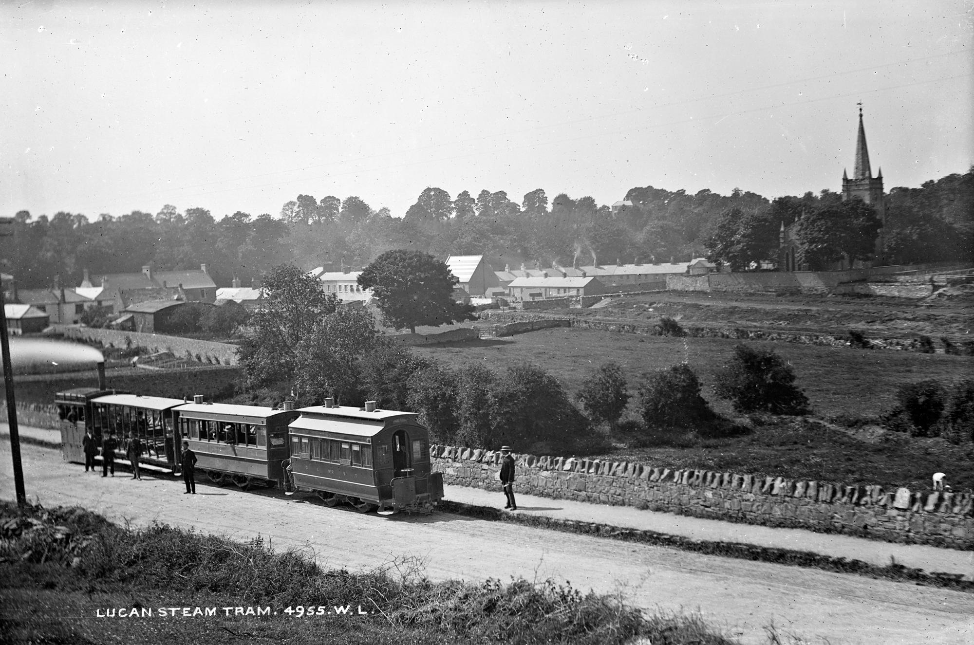 Lucan steam train