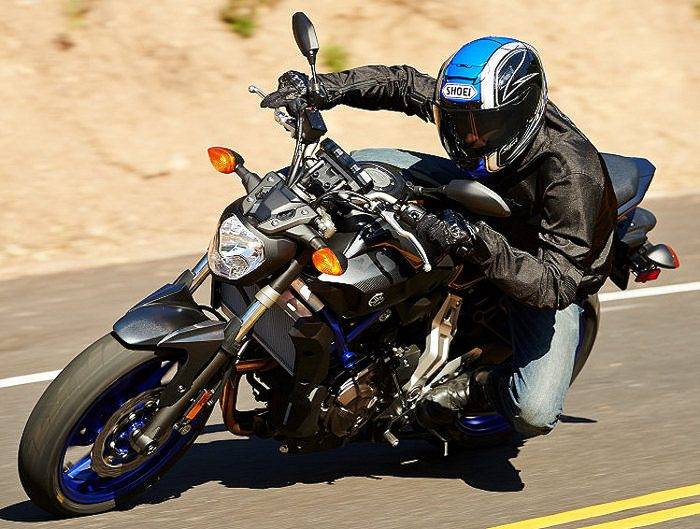 Yamaha MT-07 700 2015 - 14