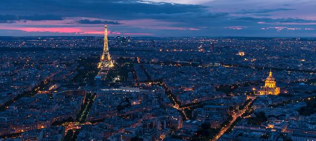 Hôtel des Invalides - La tour Eiffel - Paris