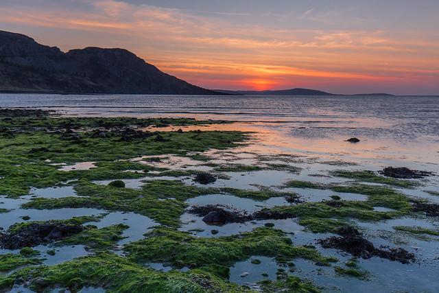 Gruinard Bay Sunset ..