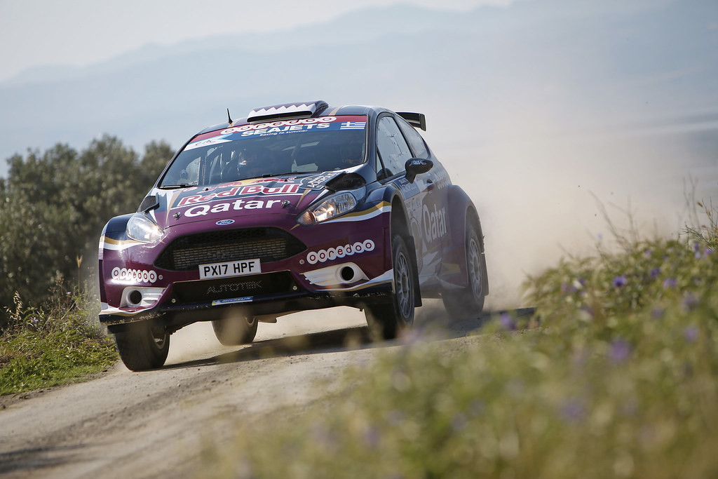 03 AL ATTIYAH Nasser (qat) and BAUMEL Matthieu (fra) action during the European Rally Championship 2017 - Acropolis Rally Of Grece - From June 2 to 4 - Photo Thomas Fenêtre / DPPI