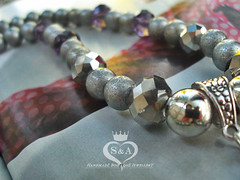 Necklace With regal look Tereza Gemstone Stone Bead Jasper Yoga Red Elastic Mens Womens Gifts Mother Gift Girl