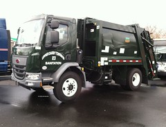 Upper Darby Township, PA 2016 Peterbilt 220 Pak-Mor rear load packer - truck No. 23