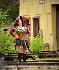 Steampunk Day at Cowtown
