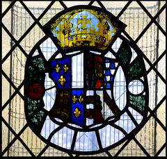 royal arms of Henry VIII and Jane Seymour