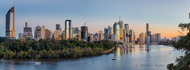 Brisbane city at dawn #3