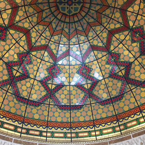 Amazing domed ceiling