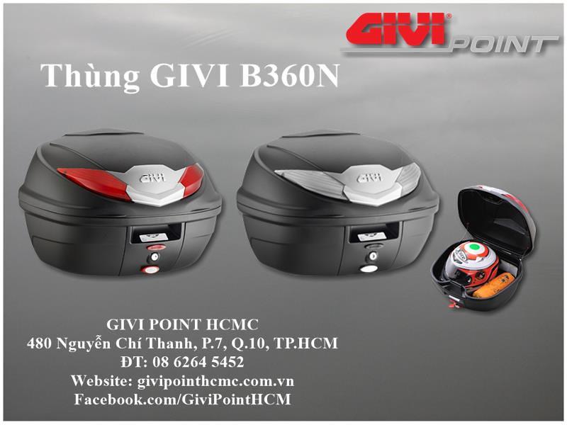 Thung xe Givi - 12