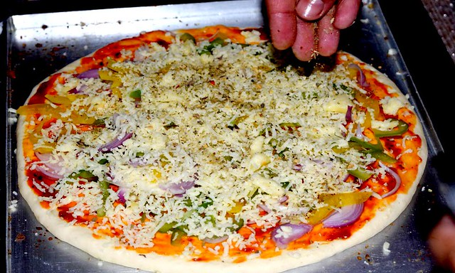 Whole Wheat Pizza Dough Raw