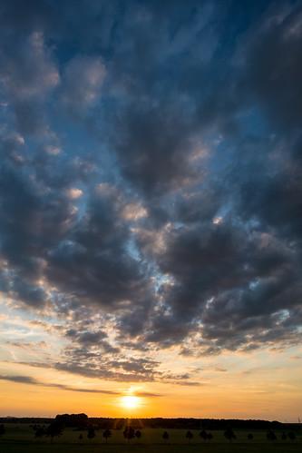 hannover doeteberg sunrise