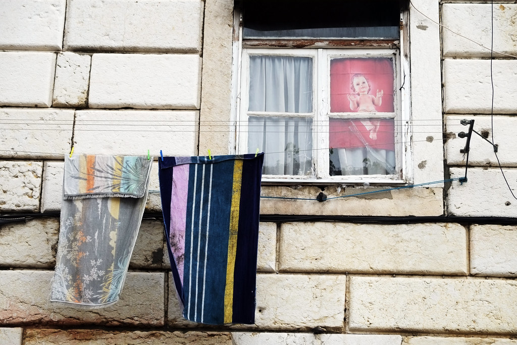 Wash day in Lisbon