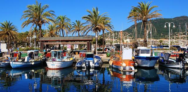 port de Cavalaire-sur-Mer Var France