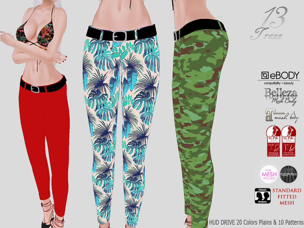 ★13 Treze★ Kim's Pants - SecondLifeHub.com