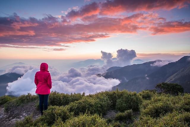 Enjoy Sunset, Mountain Hehuan 合歡山