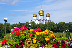 Yaroslavl in flowering
