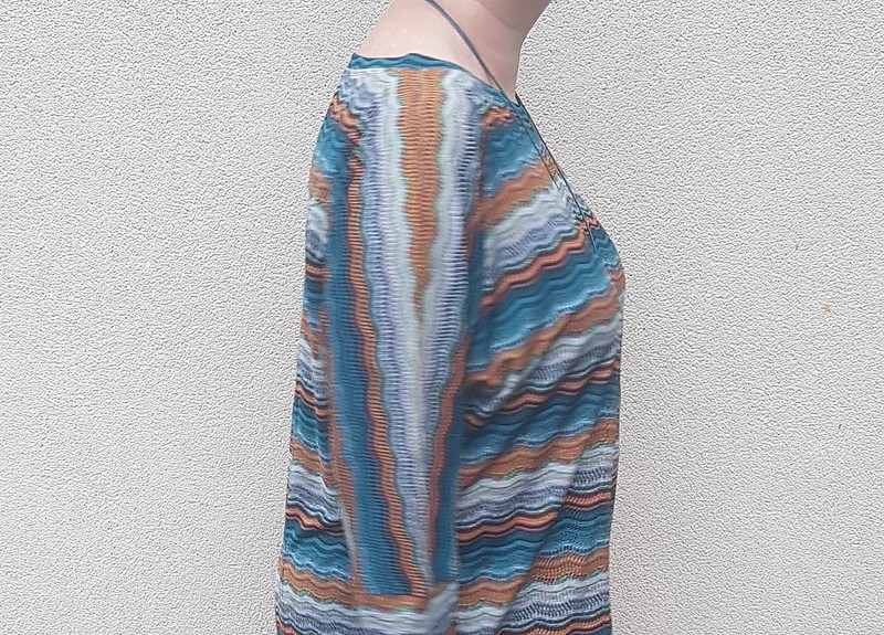 Hot Patterns Milano dolman tee in kni from Darn Cheap Fabrics
