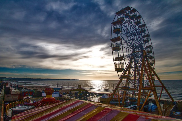 Bridlington Wheel, Canon EOS 70D, Sigma 10-20mm f/3.5 EX DC HSM