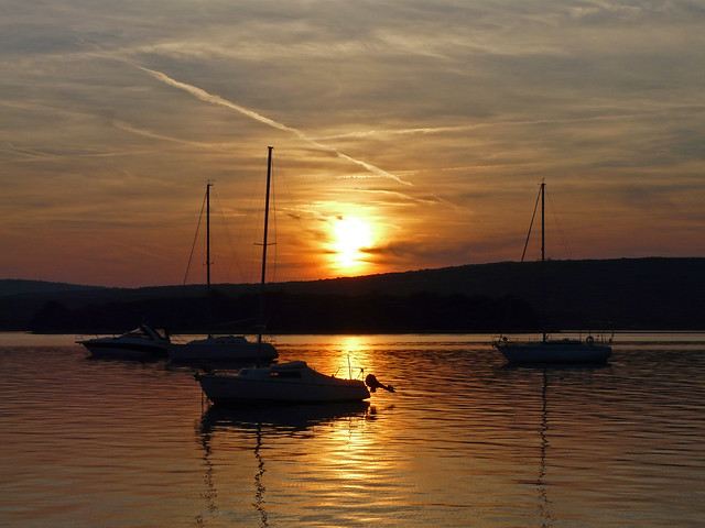Croatia, sunset, Panasonic DMC-FZ18