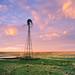Windmill at Sunrise by AlexBurke