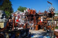 Regard de thierry Ehrmann, auteur de la Demeure du Chaos / Abode of Chaos