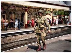 Patrolling the Platform...