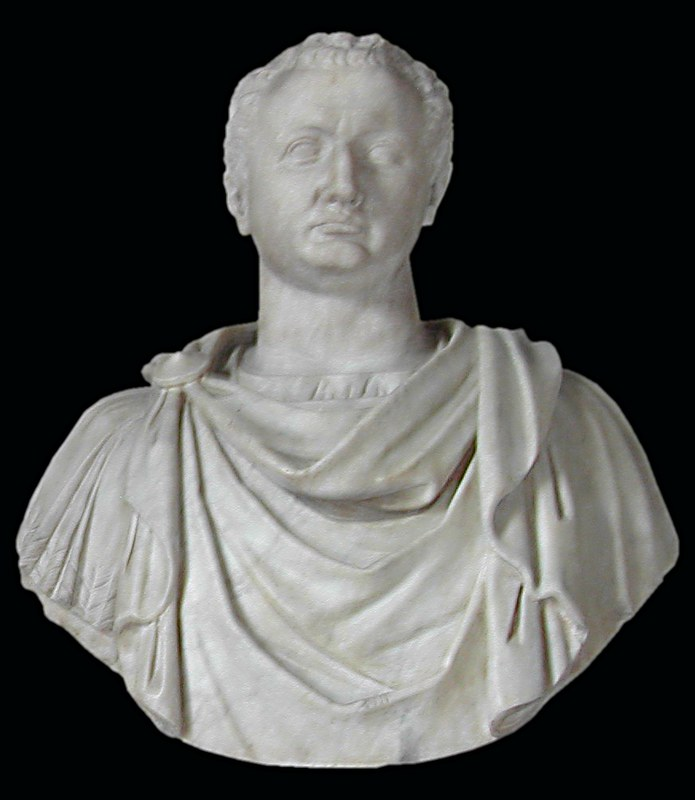 Sculpture of Roman emperor Titus