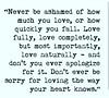 #love is life enjoy it
