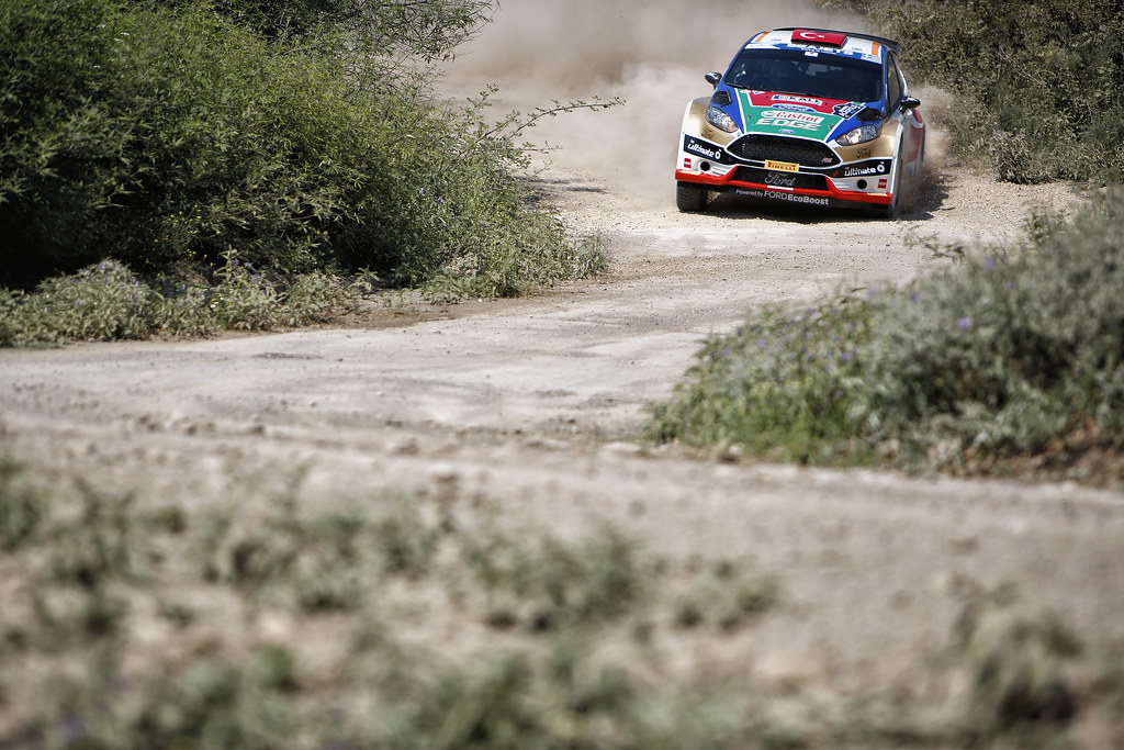 05 BOSTANCI Murat (tur) and VATANSEVER Onur (tur) action during the European Rally Championship 2017 - Acropolis Rally Of Grece - From June 2 to 4 - Photo Thomas Fenêtre / DPPI