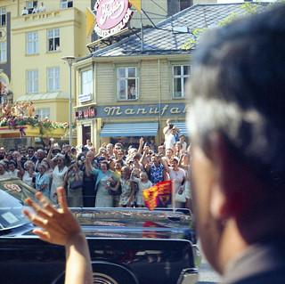 Dronning Elizabeth II besøker Trondheim (1969)