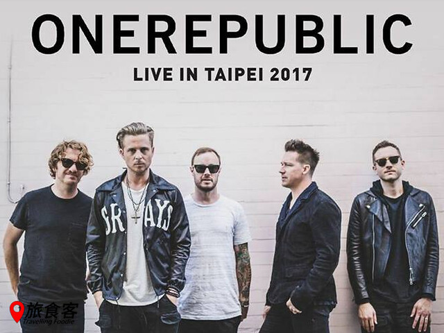 2017 ONEREPUBLIC LIVE IN TAIPEI