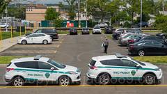 NYC Parks Enforcement Patrol Vehicles, South Beach, Staten Island, New York City