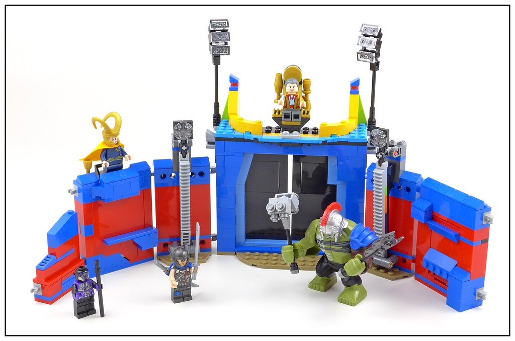 LEGO ® 76088 Marvel Super Heroes THOR CONTRE HULK dans l/'arène