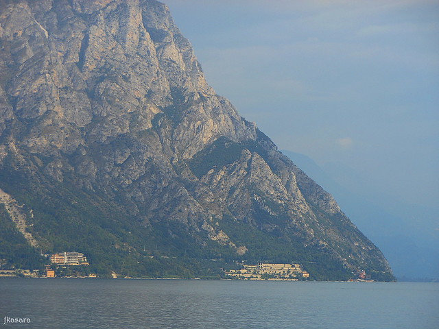 Approaching Limone sul Garda