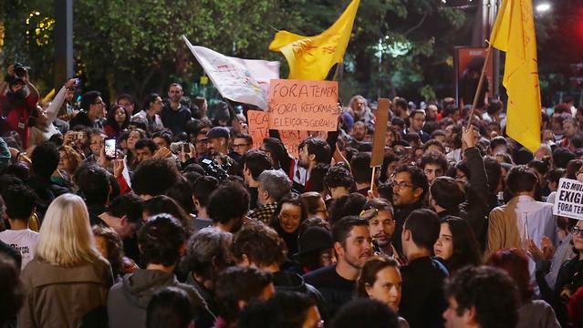 A queda do governo ilegítimo só será uma vitória se representar a possibilidade de o povo brasileiro tomar em suas mãos o destino do País - Créditos: Paulo Pinto/AGTP