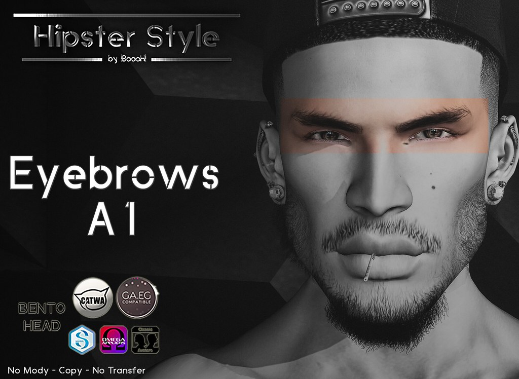 [Hipster Style] Eyebrows A1 - SecondLifeHub.com