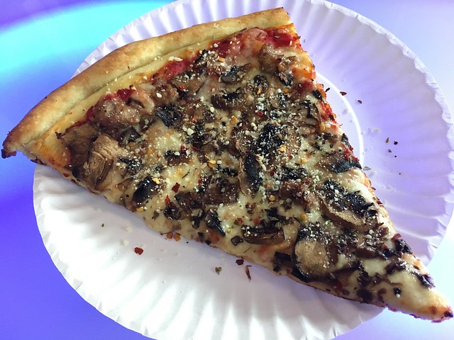 Sausage and mushroom slice - Marcello's Pizza