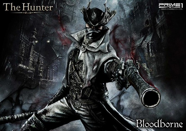 Prime 1 Studio -《血源詛咒: 遠古獵人》卑鄙的外鄉人「獵人(Hunter)」 Bloodborne 狩人(ハンター)