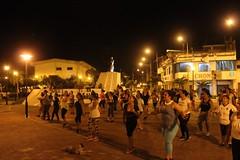 Alcaldía de Chone brinda bailoterapias en dos sectores urbanos