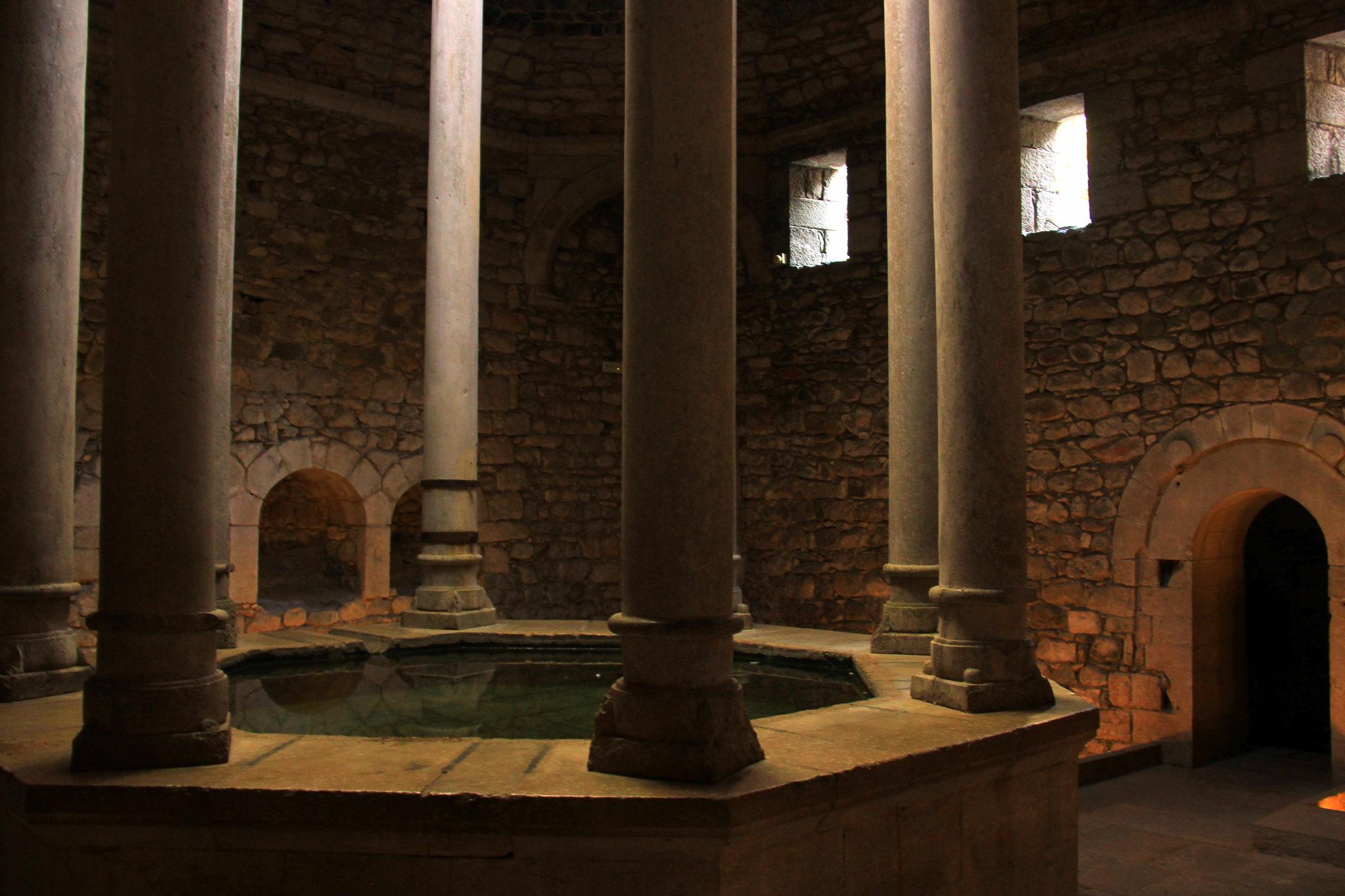 The domed Arab Bath at Girona